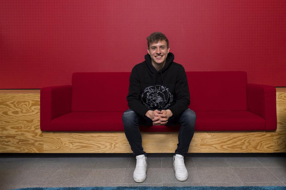 Niklas Hauptmann ist im Sommer 2018 von Dresden in seine Geburtsstadt köln gezogen, doch fußballerisch hatte er dort bisher keine glückliche Zeit.