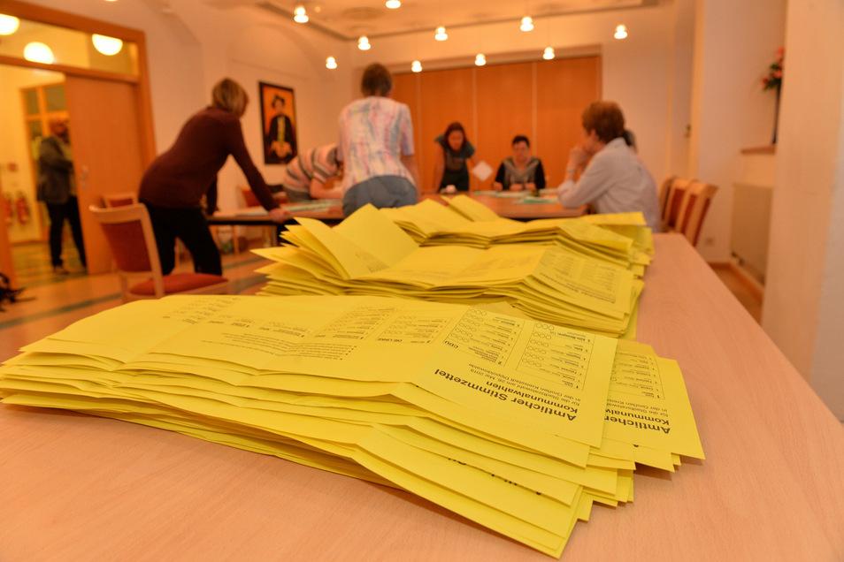 Zur Kommunalwahl kommt nächstes Jahr eine Ergänzungswahl der Ortschaftsräte von Paulsdorf, Malter und Reinholdshain hinzu.