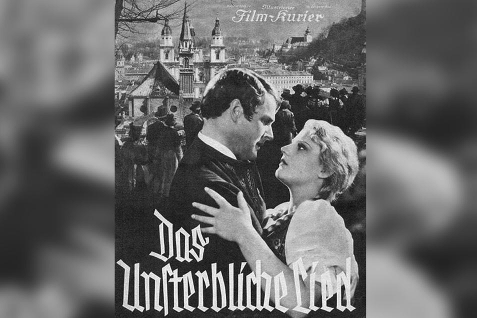 """Titelblatt des Filmprogramms zu """"Das unsterbliche Lied"""" (1934)"""