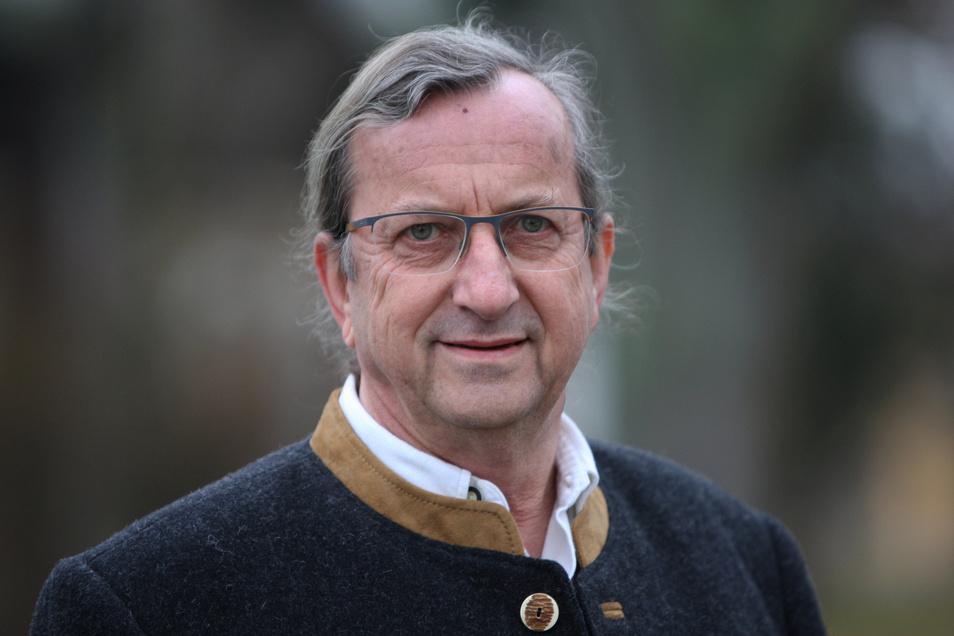 Bürgermeister Christian Naumann (parteilos) wurde im Wahlkampf noch von Maik Franke unterstützt.