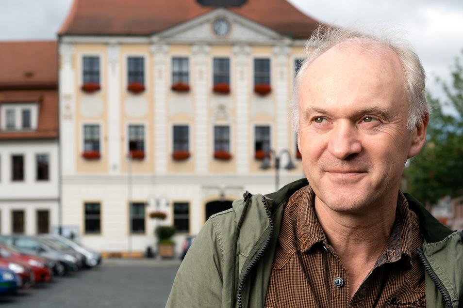 Rolf Daehne saß viele Jahre als Grünen-Abgeordneter im Stadtrat von Radeberg. Er wünscht sich mehr Radwege.