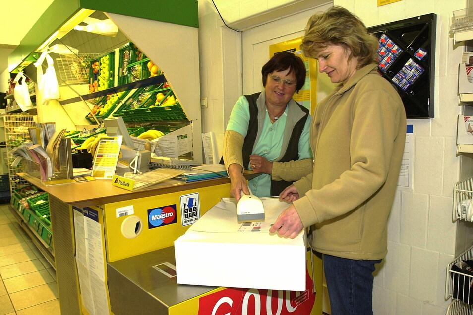 2005 gab es in Wittgendorf noch einen Einkaufsmarkt mit Postfiliale. Mit den Postdienstleistungen war wenig später Schluss, der Markt selbst existierte noch zehn Jahre.