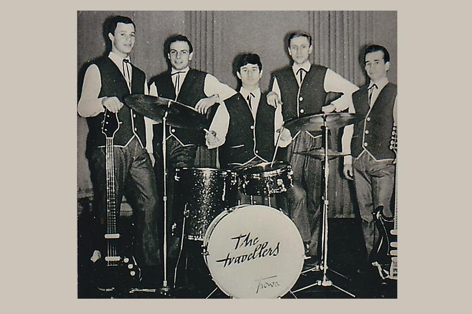 Das waren noch Zeiten: Kurz nach der Gründung 1965 nannte sich die Stern Combo Meißen (Martin Schreier am Schlagzeug) The Travellers. Das gefiel Walter Ulbricht nicht, also musste sich die Band wieder umbenennen – zum Glück.
