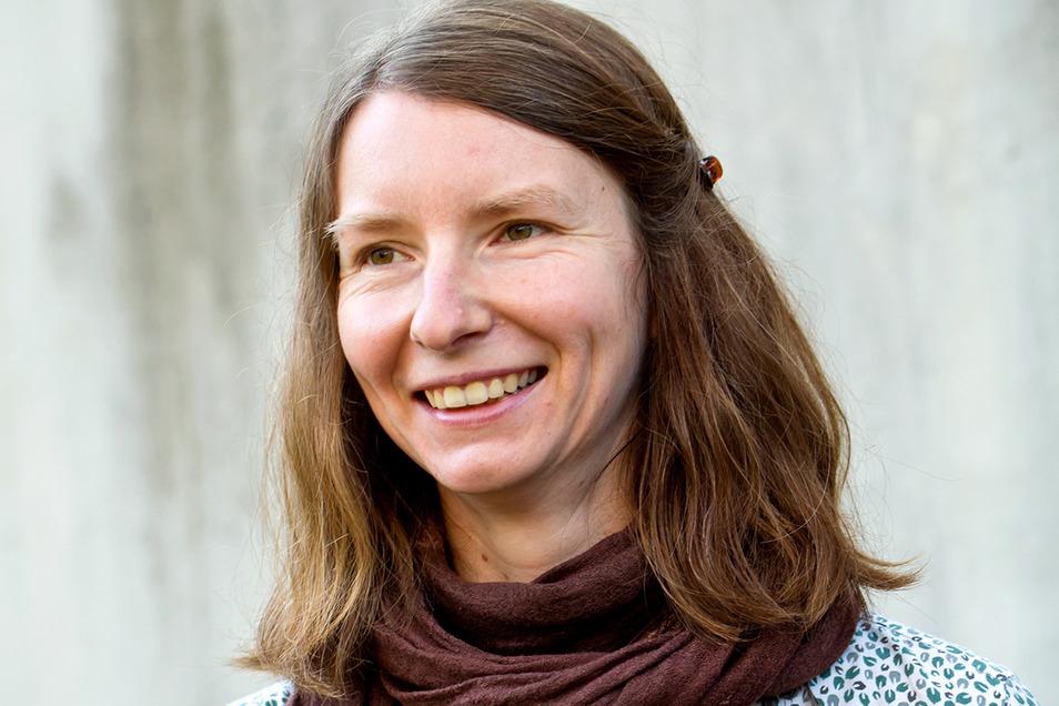 Katharina Bendixen wird im kommenden Jahr in Dresden leben und schreiben - als neue Stadtschreiberin.
