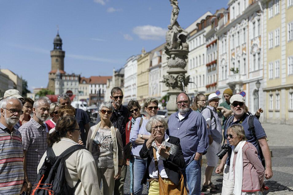 Stadtführungen gibt es auch wieder in Görlitz.