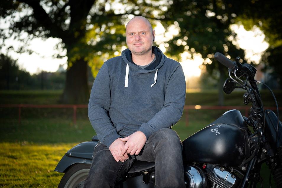 Marcus Bürgel ist der neue Leiter des Jugendclubs in Medingen.