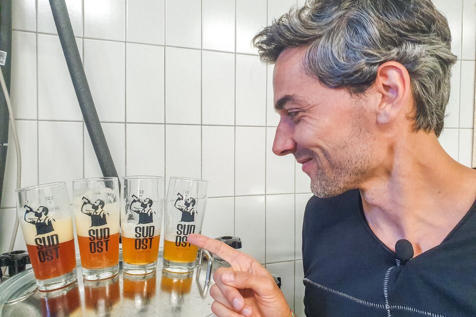 Schmeckt: Das Jubiläumsbier zu 950 Jahren Görlitz.