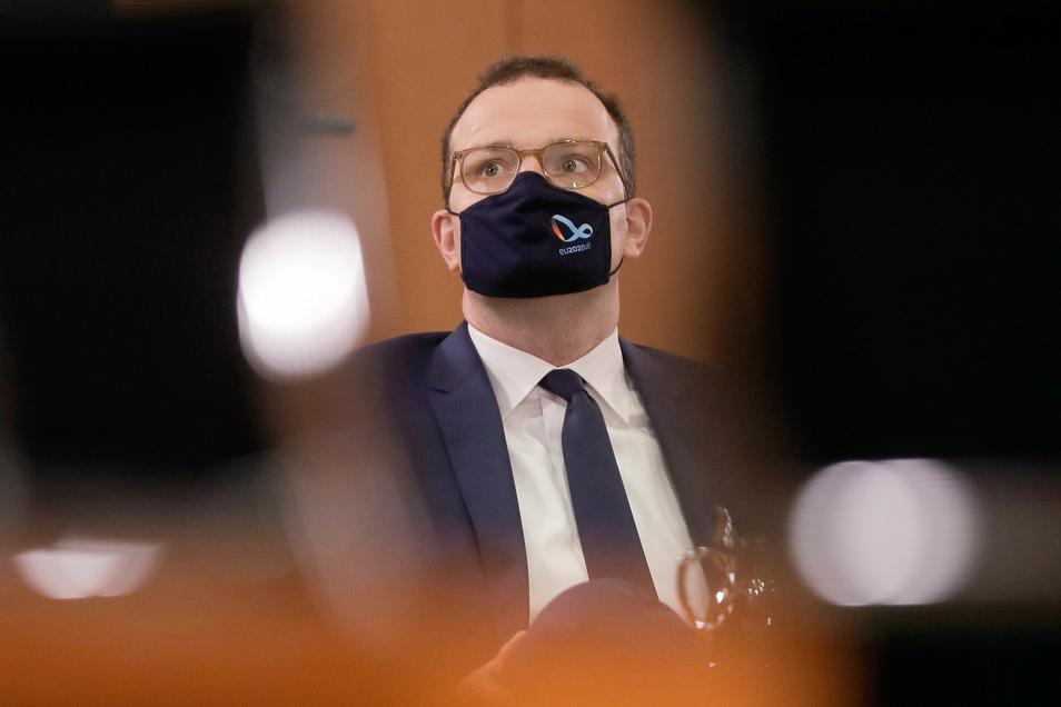 Gesundheitsminister Spahn positiv auf Coronavirus getestet [1:08]
