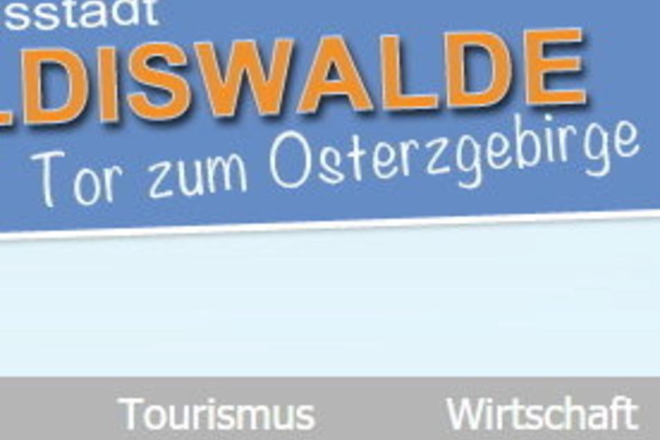 """Auf der Internetseite der Stadt findet sich der Slogan """"Tor zum Osterzgebirge"""", aber sonst sind gute Ideen noch gefragt."""
