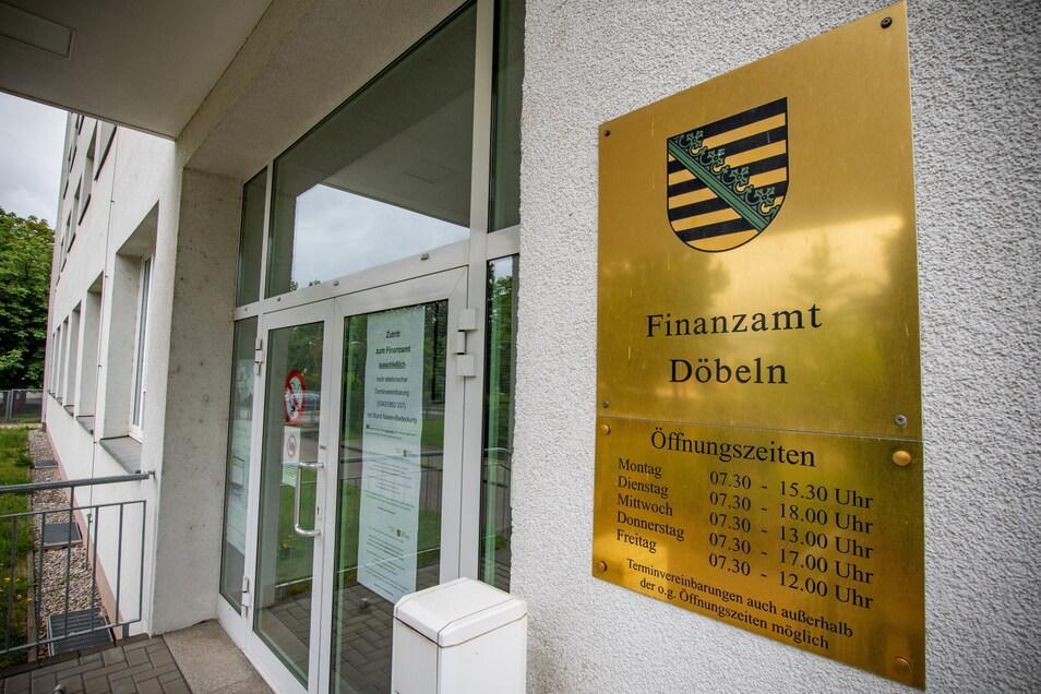 Ab dem 5. Juli hat das Döbelner Finanzamt wieder für Besucherverkehr geöffnet.