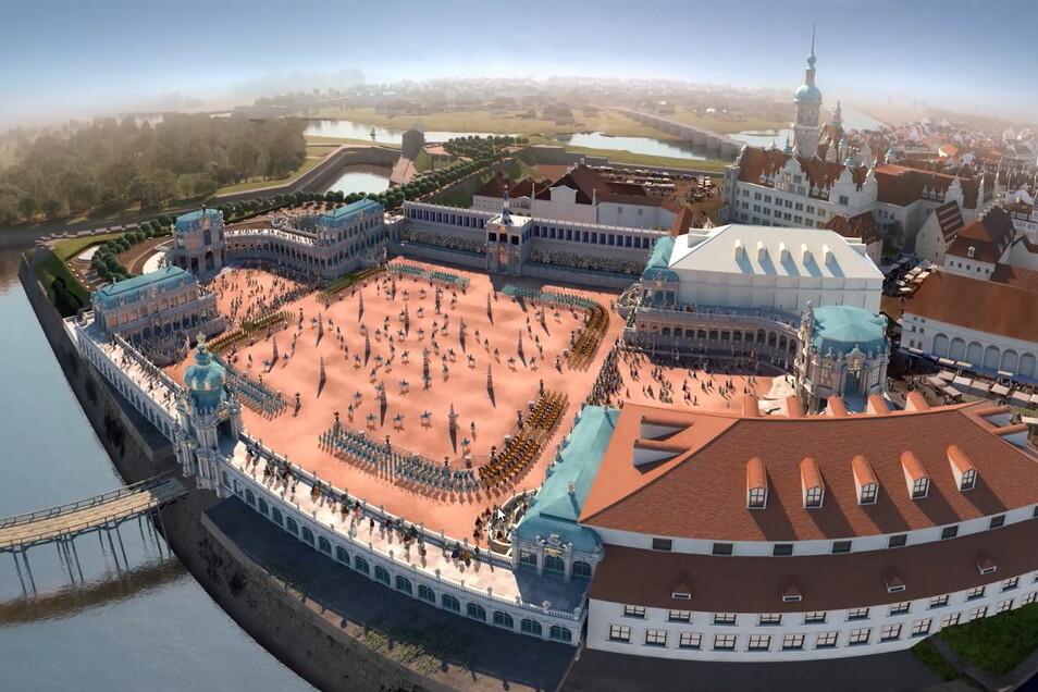 Solche und viele weitere imposante Ansichten werden Besucher sehen.