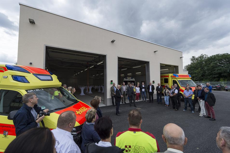 Im August 2017 erfolgte die Einweihung der neuen Rettungswache in Görlitz-Weinhübel.