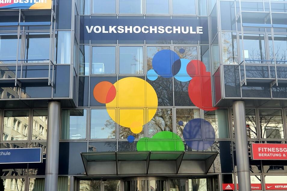 Das Hauptquartier der Dresdner Volkshochschule an der Annenstraße ist seit Herbst fast komplett verwaist.