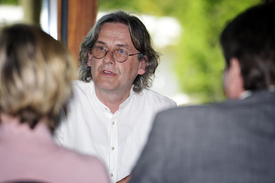 Seit Januar 2011 ist der gebürtige Weimarer Ralf-Peter Schulze Intendant des Mittelsächsischen Theaters.