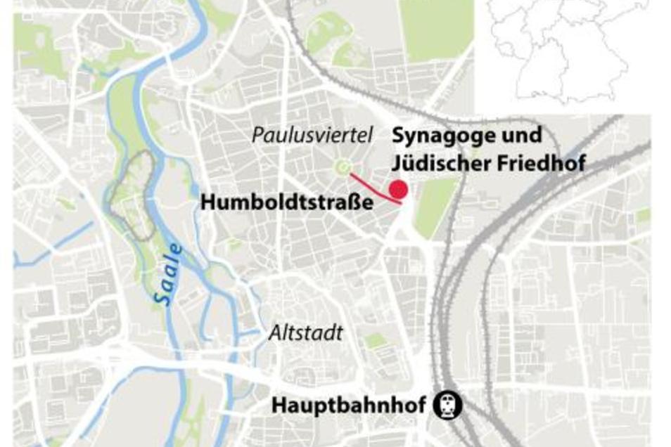 Die Schießerei fand vor einer Synagoge statt, im Nordosten der Stadt.