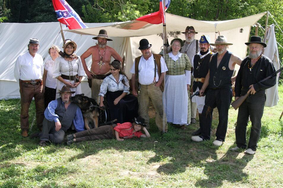 Beim Western-Treffen in Trebanitz haben die Teilnehmer mit einem Tag der offenen Tür Einblick in ihr Hobby gewährt.