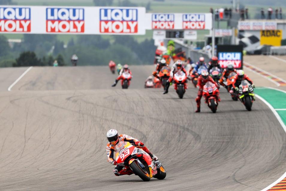 Mitte Juni 2022 könnten wieder Zuschauer beim Grand Prix auf dem Sachsenring dabei sein.