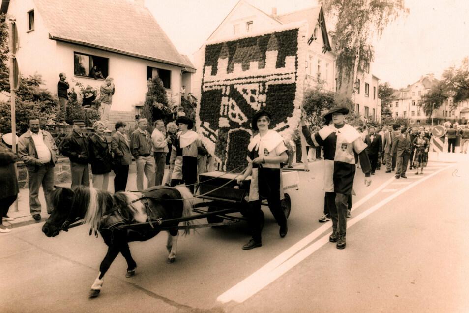 So groß wie 1996 soll das Stadtjubiläum Leisnigs im nächsten Sommer nicht gefeiert werden.