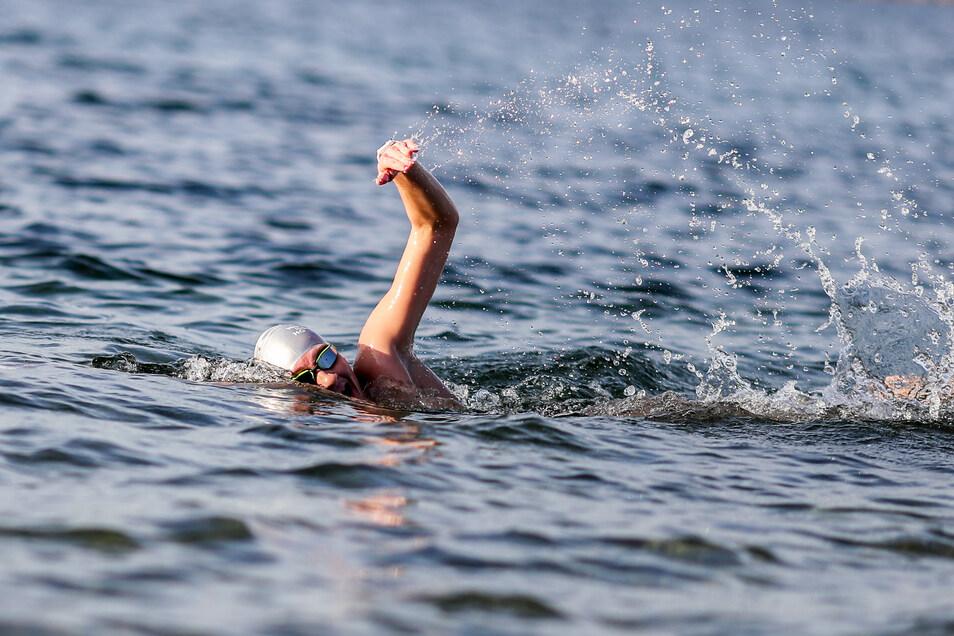 Alisa Fatum trainiert das ganze Jahr in Seen.