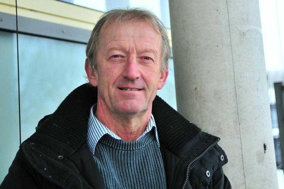 Volker Willhelms ist Vorstandschef des Nabu-Regionalverbandes Großenhainer Pflege.