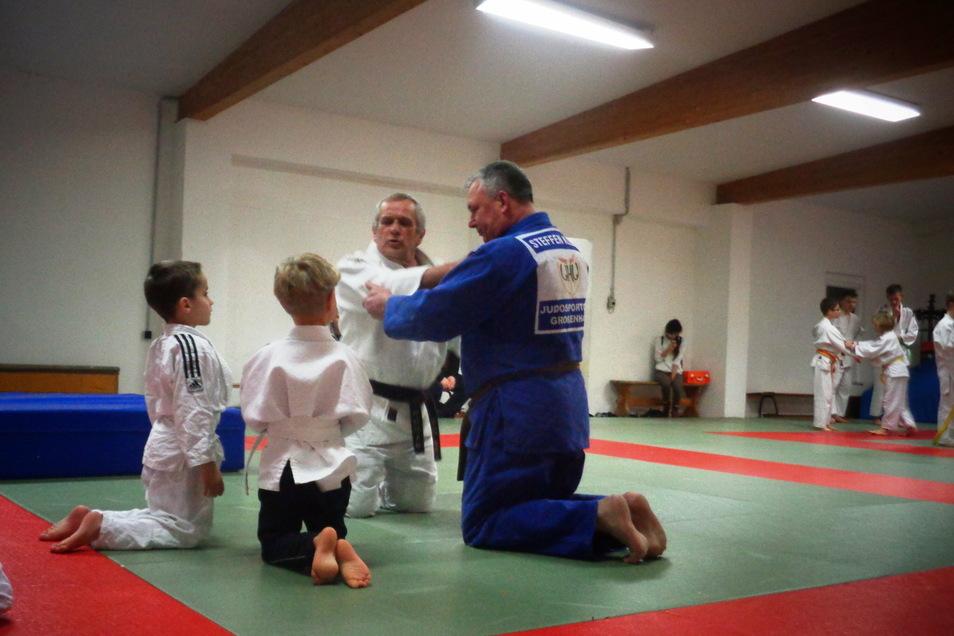 Normaler Trainingsalltag ist für die Großenhainer Judokas derzeit nicht möglich. Doch der Verein zeigt eine Alternative auf.