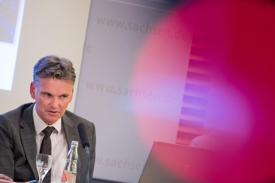 Der Präsident des Landesamtes für Verfassungsschutz von Sachsen, Gordian Meyer-Plath.