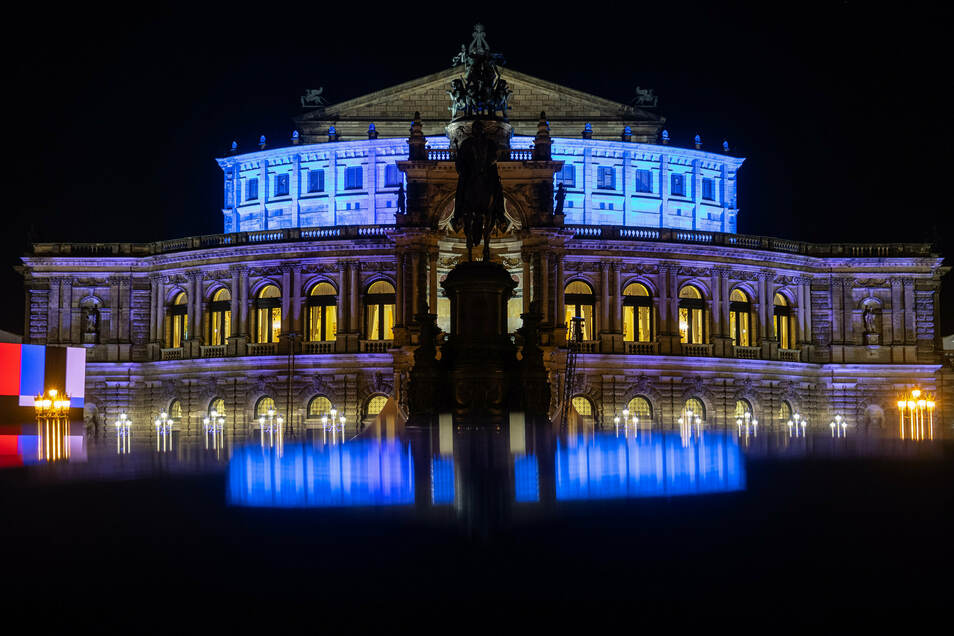 Die Semperoper in Dresden war auch 2018/19 der größte Nutznießer von Sponsoring durch die Wirtschaft.