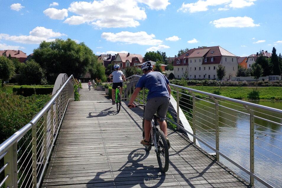 Großenhain lässt sich wunderbar mit dem Fahrrad entdecken.