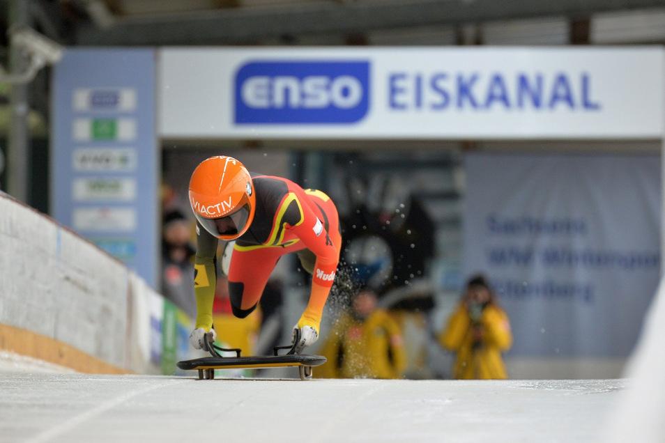 Zur Bob- und Skeleton-Weltmeisterschaft in Altenberg wird ab Montag der Nahverkehr verstärkt.