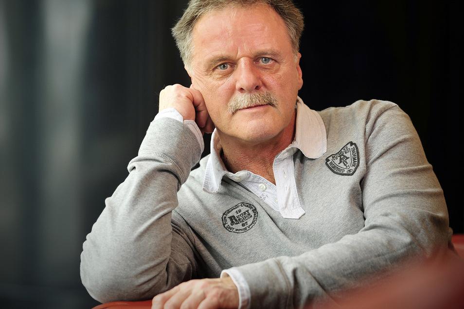 Der einstige Dynamo-Spieler Peter Kotte kommt zum Talk nach Schönfeld.
