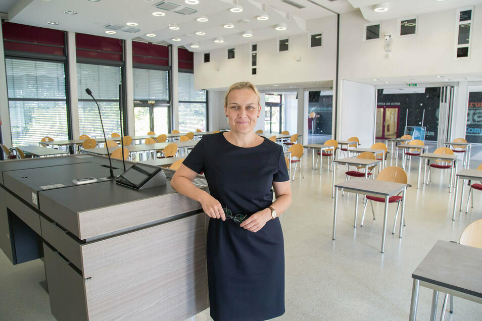 Dr. Manja Hussner ist als Leiterin des Rektoratsbüros künftig auch für die Digitalisierung der Polizeihochschule zuständig.