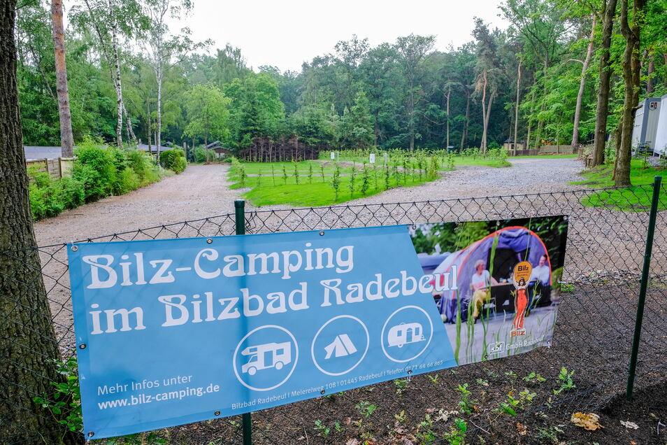Wo einst Pachthütten standen, können Camper nun ihre Reisemobile abstellen.