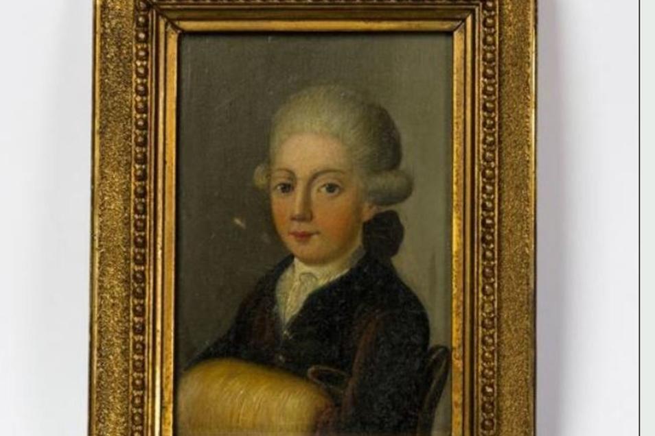 Dieses Bild zeigt vermutlich Lessing als Kind. Wer mehr erfahren möchte, sollte am 28. Februar ins Röhrmeisterhaus.