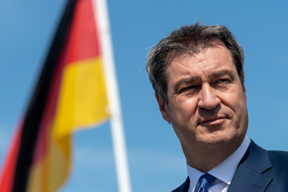 Könnte im Duell mit Kanzlerkandidatin Baerbock nach Meinung von Experten mit dem Versprechen von Führungsstärke punkten: CSU-Chef Markus Söder.