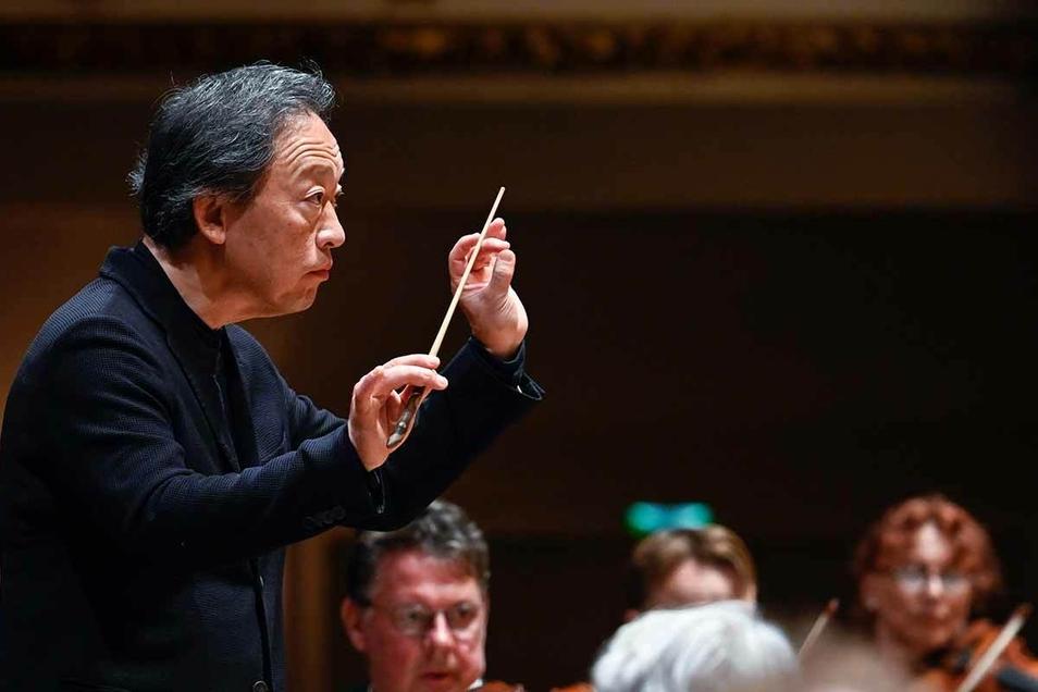 Myung-Whun Chung, leitete erneut als Gastdirigent ein Konzert der Staatskapelle.