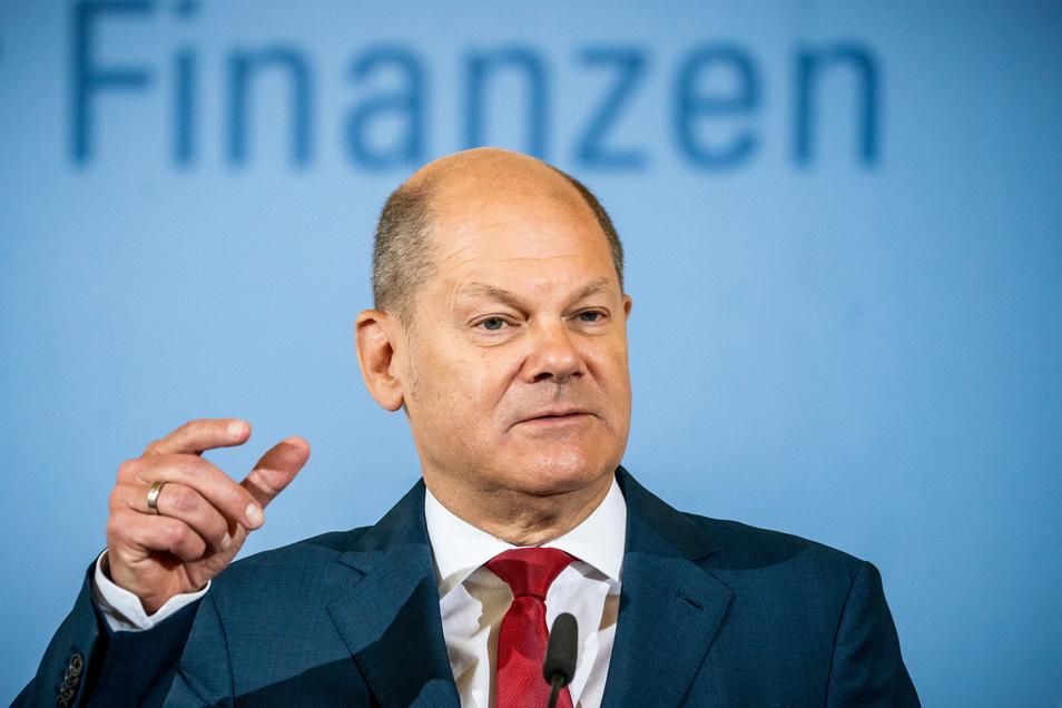 Bundesfinanzminister Olaf Scholz verkündete am Montag die ESM-Reform