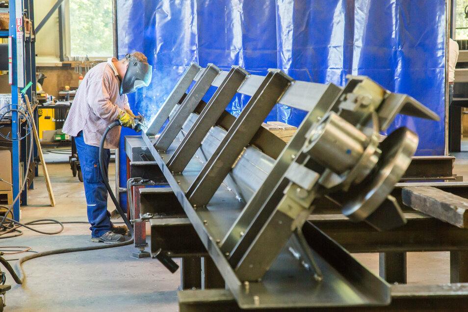 Jede Anlage, die in Jänkendorf die Niederlassung verlässt, ist ein Unikat. Hier wird nach Auftrag produziert, nicht auf Vorrat.