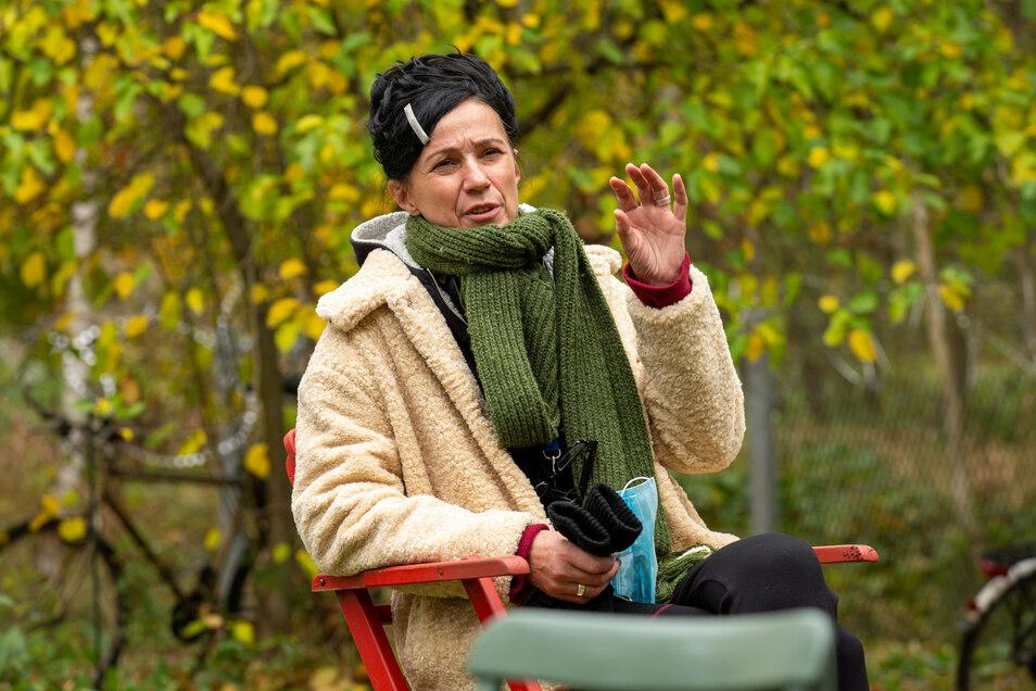 Regisseurin Harriet Maria Meining: Das Drehbuch entstand schon im November 2019.