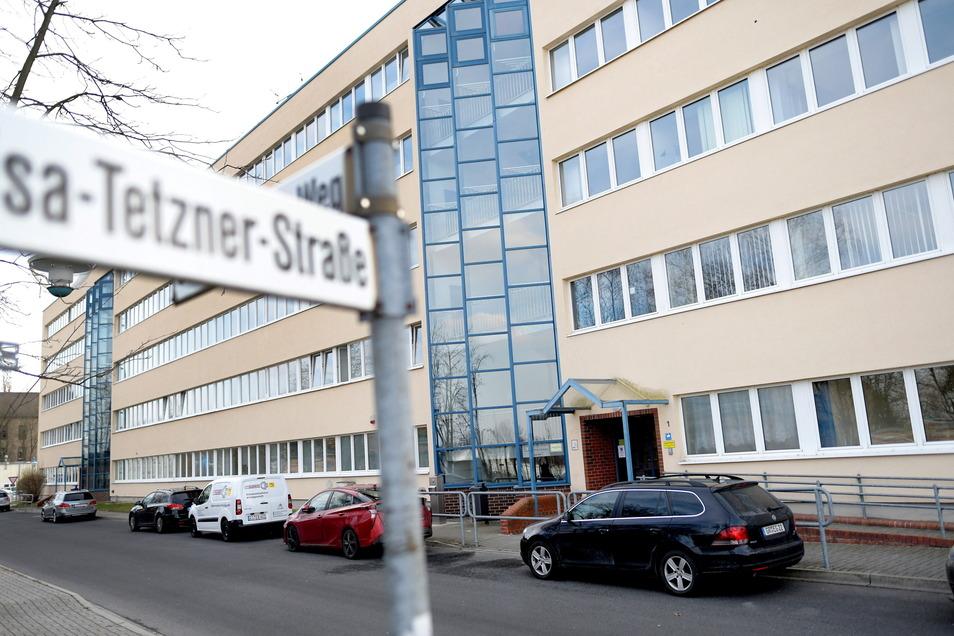 Im Haus VII der Hochschule Zittau/Görlitz sitzen die DLR-Mitarbeiter derzeit.