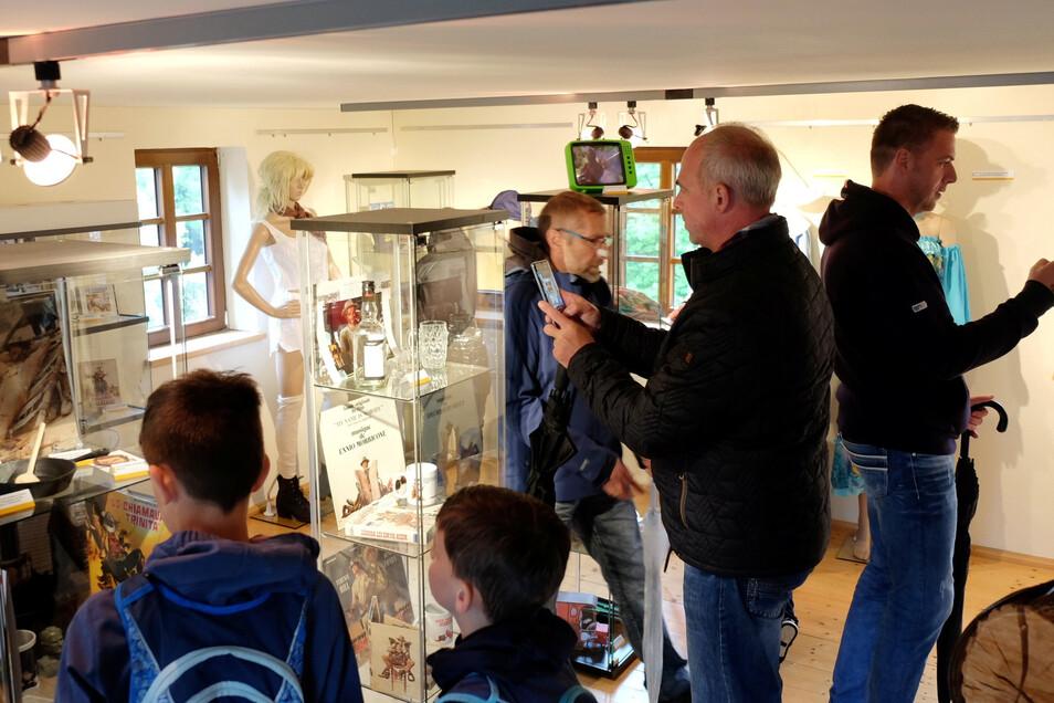 Blick ins neue Terence-Hill-Museum Lommatzsch.