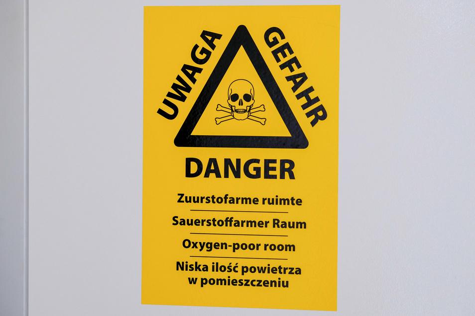 Die Luft in den Kühlzellen für lange Lagerung enthält nur 2 Prozent Sauerstoff.