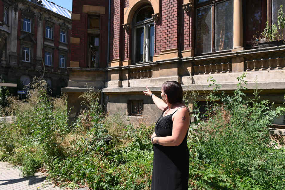 Die Wohnung von Ramona Gehring ist im Erdgeschoss eines Altbaus.