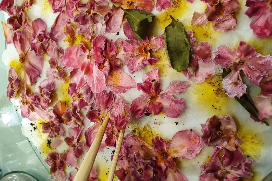 Blüten sind die Basis vieler Düfte. Es gibt aber auch weitaus exotischere Zutaten.