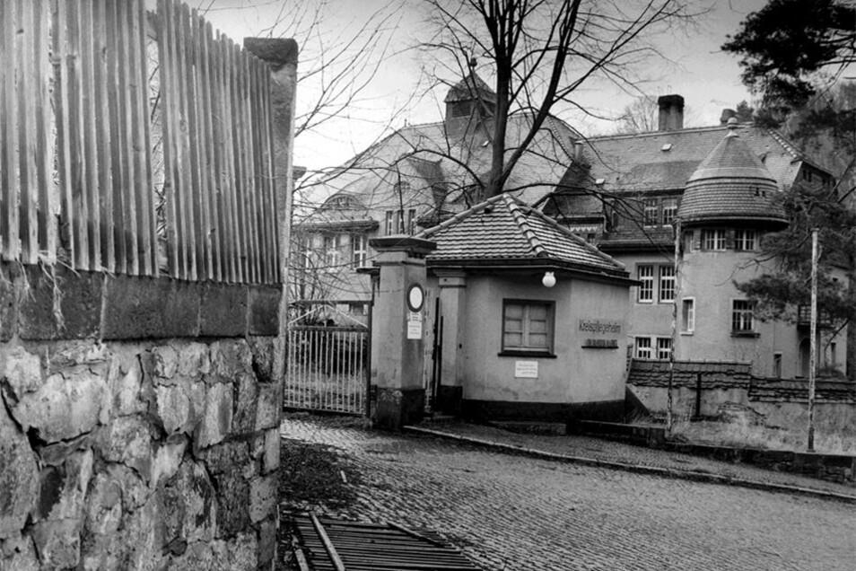 So sah das Gebäude kurz nach der Schließung des Pflegeheims aus. Das Foto stammt aus dem Jahr 1993.