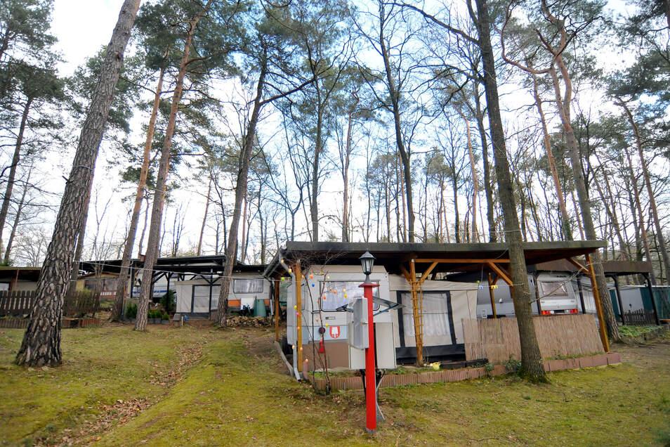 Im Waldbad Oberau ist seit dem 22. April wieder Dauercamping möglich.