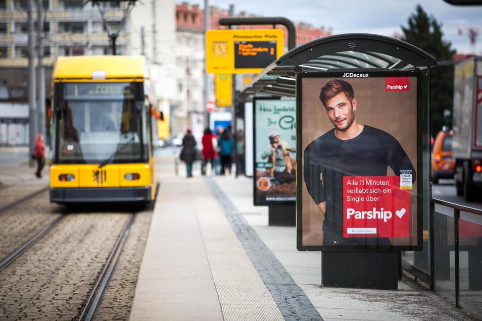 Weil die Werbeverträge auslaufen, müssen womöglich 800 DVB-Häuschen in Dresden abgerissen werden.
