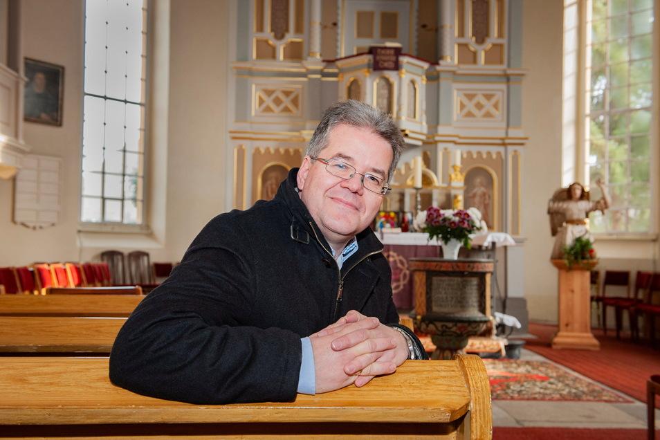 Symbolbild: Pfarrer Eric Maurer.