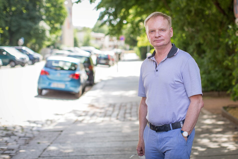 """""""Es ist mir ein absolutes Rätsel"""": Uwe Steimle am Montag in Gerichtsnähe."""