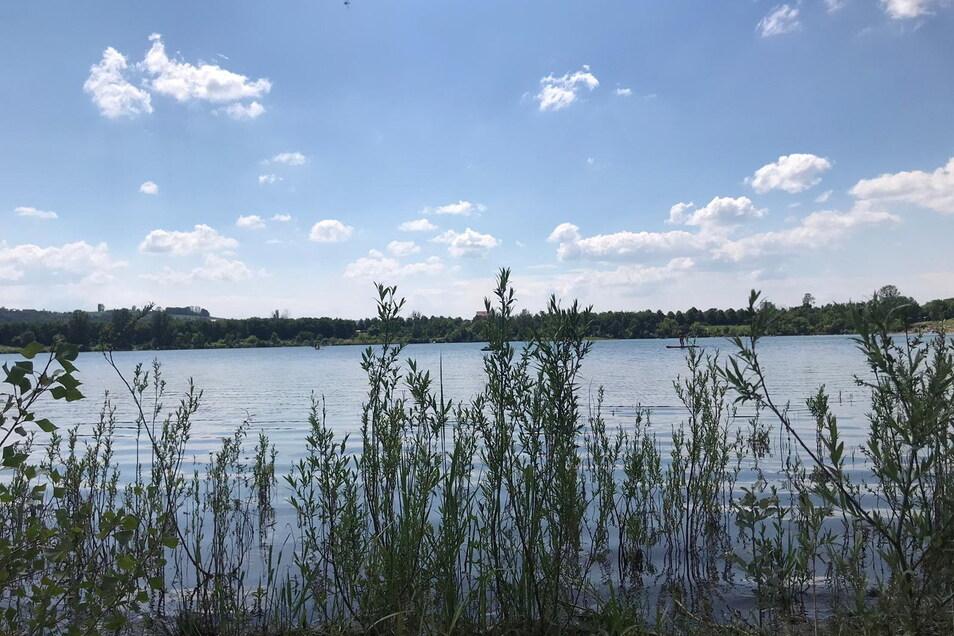 So schön ist der Badesee Birkwitz, dem erneut eine sehr gute Wasserqualität bestätigt wurde.