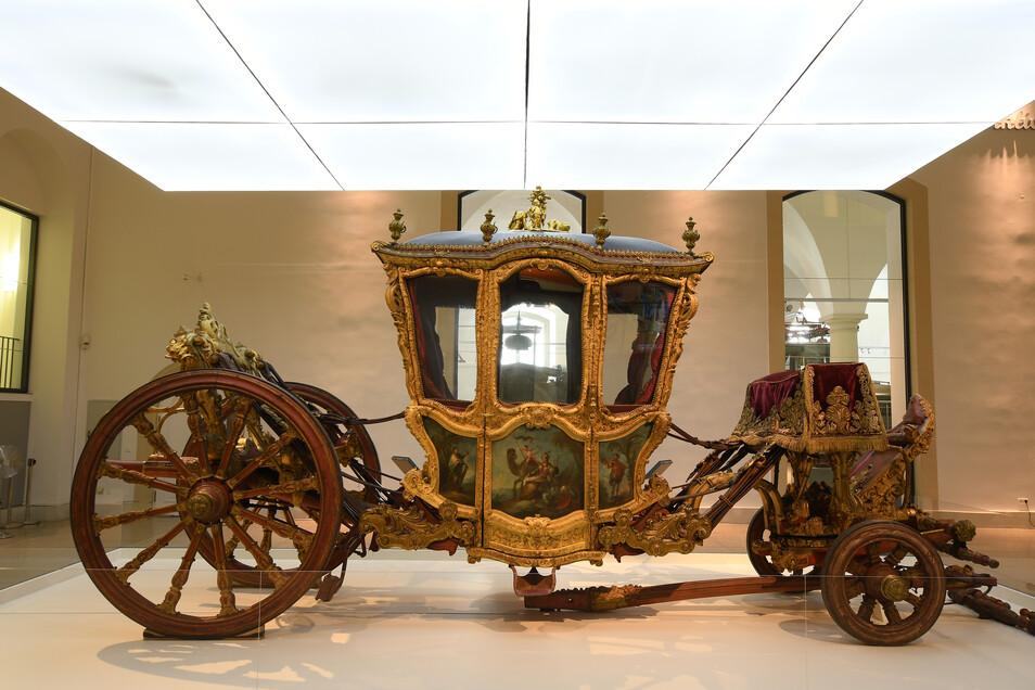 Ob zu Pferd oder mit der Prachtkutsche: Das Verkehrsmuseum lädt zum Fest.